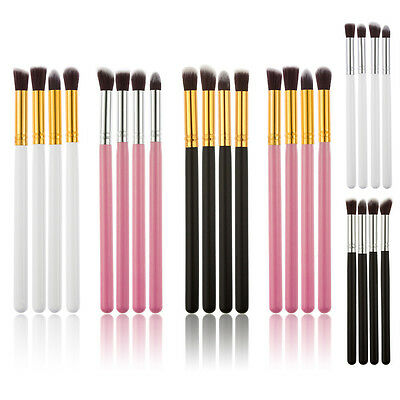 4pcs Professional Eyeshadow Blending Pencil Eye Brushes Set Makeup Cosmetic Tool