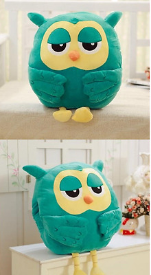 50CM Big plush Blue Owl Cute Giant Large Stuffed Soft Plush Toy Doll Pillow Gift