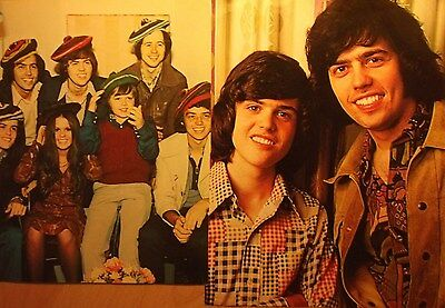 2 english clipping OSMONDS DONNY MARIE OSMOND BOYS BAND ROCK POP GROUP 70`s