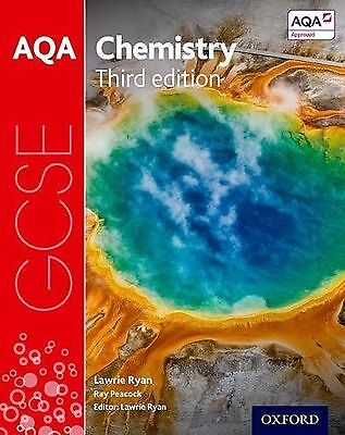 AQA GCSE Chemistry Student Book Study Aid New Free Post Lawrie Ryan