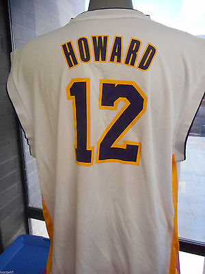 3622c89ebd6 ADIDAS NBA Mens Los Angeles Lakers Dwight Howard Rev 30 Jersey New M ...
