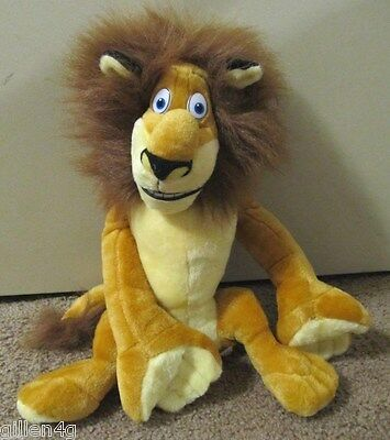 Dreamworks Madagascar Alex Super Soft Stuffed Plush Lion *new No Tag So Cute