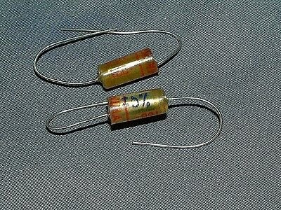 WIMA TFF .01uf 5% Tolerance 160 Vdc High Quality Capacitors - 2 pieces