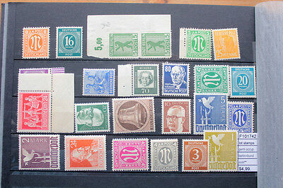 Lot Stamps Area Germany Occupation With Berlin+Bundespost Mnh** (F101742)