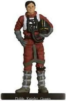 WOTC Star Wars Minis Force Unleashed Wedge Antilles - Red Two SW