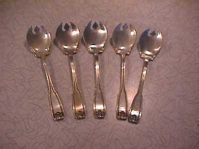 1912 Wm Rogers - Silver Plate Spoons - Nice - 5pcs