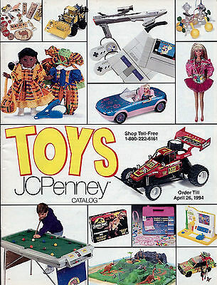 1993 Jc Penney Toys Catalog Christmas Wish Book Penneys