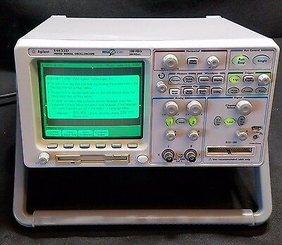Agilent 54622D Mixed Signal Oscilloscope Mega Zoom 2+16 Channel 100MHz