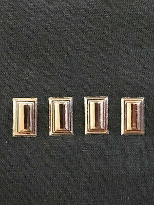Star Trek Enterprise TV Series Captain Collar Rank Insignia Pips Metal Pins