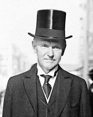 Calvin Coolidge Portrait 1929 8x10 Silver Halide Photo Print