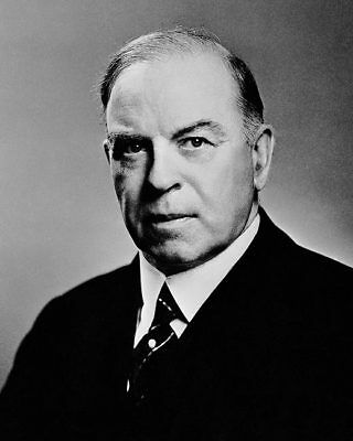 CANADIAN PRIME MINISTER MACKENZIE KING 8x10 SILVER HALIDE PHOTO PRINT