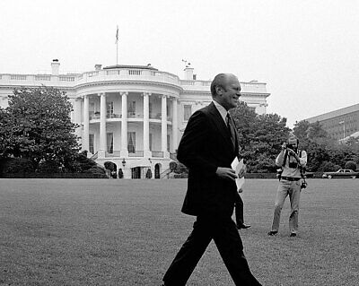 President Gerald Ford On White House Lawn 11x14 Silver Halide Photo Print