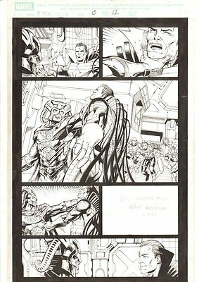 X-Men: The End #13 p.12 - Mr. Sinister & Lord Chancellor Kahn 2006 by Sean Chen