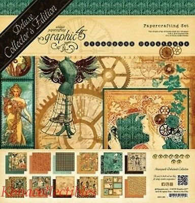 Graphic 45 STEAMPUNK Debutante 12 x 12 Deluxe Collection Collectors Edition