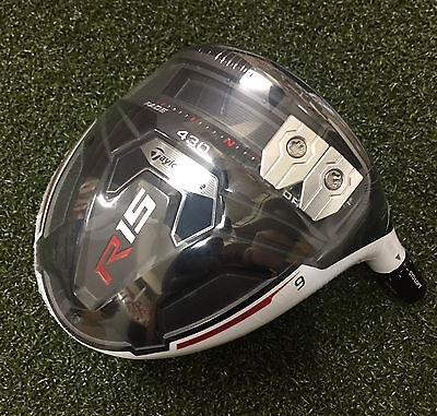 New Taylormade R15 430 9.0* RH TOUR ISSUE MODEL // 9.5*