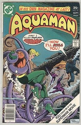 Aquaman #57 August 1977 VG+ Black Manta