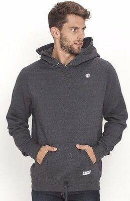 Mens Element Arbor Grey Pullover Hoodie Jumper, Size L. NWT, RRP $89.99