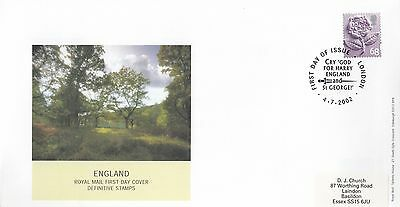 (01204) CLEARANCE GB England FDC 68p London 4 July 2002