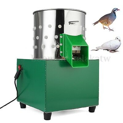 220V Feather Plucking Plucker Machine Quail Chicken Silica Gel Easy Operation AU
