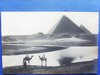 egypte,carte photo , the pyramids of gizey