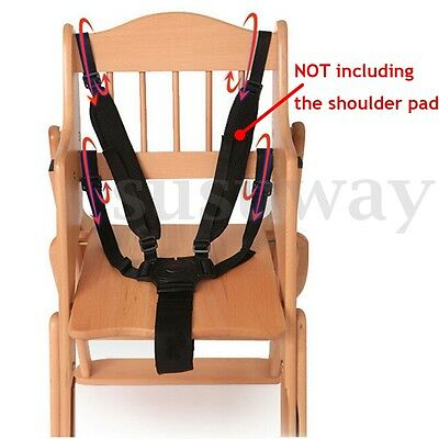 5 Point Safety Baby Chair Harness Belt Strap For High Chair Feeding Car Seat