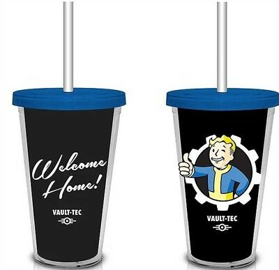 """Fallout """"Welcome Home"""" Vault-Tec Travel Cup, (Merchandise)"""