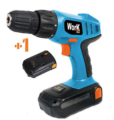 WORK MEN PERCEUSE VISSEUSE18V - 2 batteries - LITHIUM * Neuve