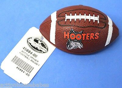 Hooters FOOTBALL Hootie the Owl Magnet Bottle Opener