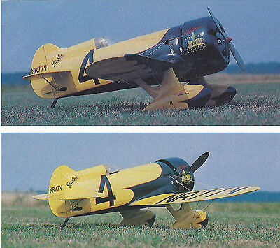 Giant 1/3 Scale Gee Bee Model Z Racer Plans, Templates and Instructions