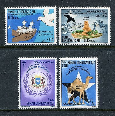 Somalia 360-363, MNH, Independence Coat of Arms 1970. x27926