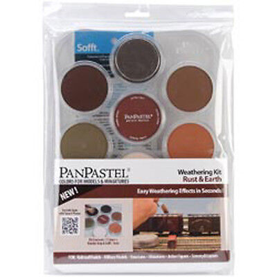Weathering - Rust & Earth - PanPastel Ultra Soft Artist Pastel Set 9ml 7/Pkg