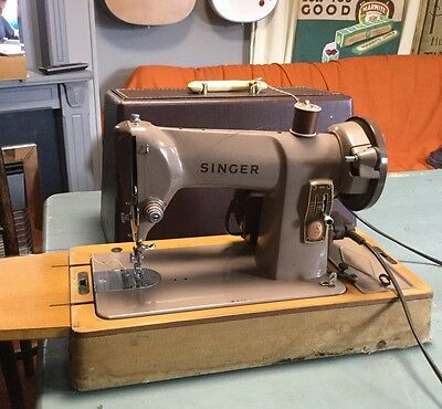 Semi Industrial Singer 185k Sewing Machine Heavy Duty Leather Powerful Motor