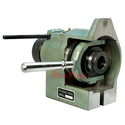 """Vertical Horizontal 5C Collet Spin Index Fixture Milling .0004"""" Spindle thread"""
