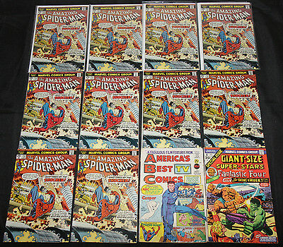 Bronze Age MARVEL & DC TITLES 146pc Count Mid Grade Comic Lot FN-VF