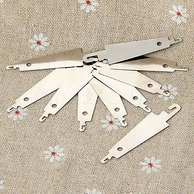 10pcs Needles-threading Threader Hook Needle DIY Sewing Cross Stitch Hand Craft