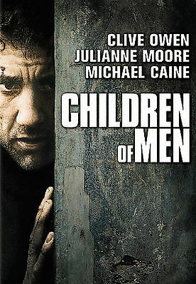 CHILDREN OF MEN (DVD, 2007, Full Frame) New / Factory Sealed / Free Shipping