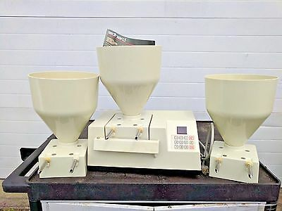 EDHARD COMMERCIAL DONUT FILLER W 3 HOPPERS  jelly pump pastry