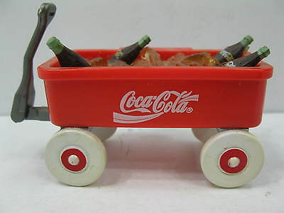 Coca Cola Magnet 1997 Red Wagon Ice Coke Bottles Collectible!