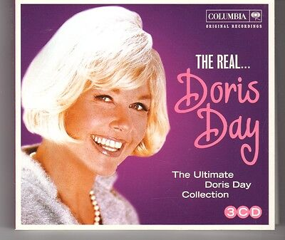 (HG862) The Real Doris Day, Ultimate Collection - 2012 - 3 CD set