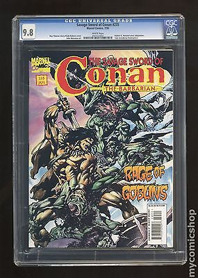 Savage Sword of Conan (1974 Magazine) #235 CGC 9.8 0501233002