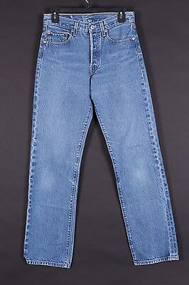 Vtg Levis 501 Button Fly High Waisted Boyfriend Mom Jeans Size 28-33