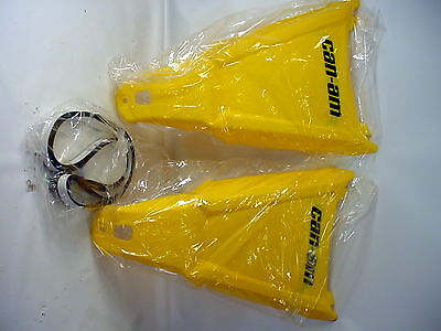Ds 450 A Arm Protectors 715000589 Pair Yellow