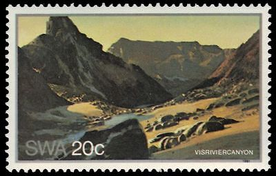 """SOUTH-WEST AFRICA 473 (SG375) - Landscapes """"Fish River Canyon"""" (pa83345)"""