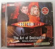 Doctor Who - The Art Of Destruction 2 Cd's Audio Talking Book