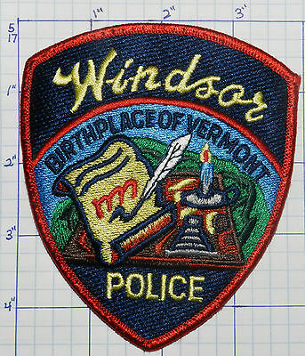 Vermont, Windsor Police Dept Version 1 Patch