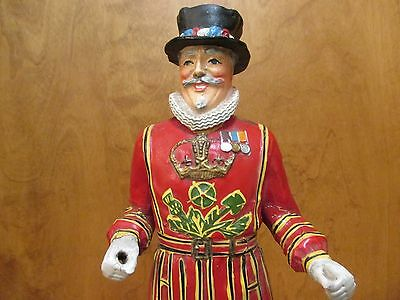 Vintage LIQUOR STORE BAR  BEEFEATER GIN Advertising FIGURAL Display PROMOTIONAL