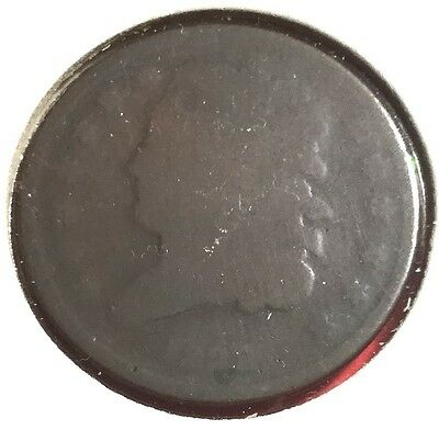 1835 US Classic Head Half Cent! Old US Coins!