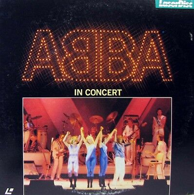 ABBA In Concert - LASER DISC - Japan