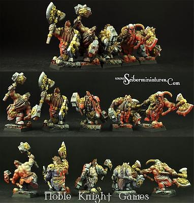 Scibor Monstrous Miniatures Fantasy Mini 28mm Furious Warriors Pack MINT
