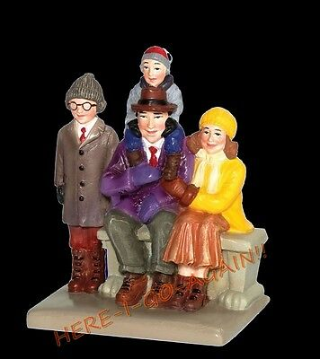 RETIRED! REAL 1ST ED A CHRISTMAS STORY Dept 56 WATCHING THE PARADE Ralphie/Randy